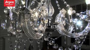 Chandelier Youtube Buy Inspire Chandelier 5 Light Ceiling Fitting Youtube