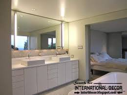 Bathroom Lighting Contemporary Contemporary Bathroom Lights And Lighting Ideas
