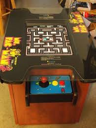 Ms Pacman Cabinet Pacman Arcade Game Cabinet For Sale 1 750 Contains Three Games