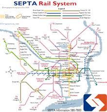 septa map septa regional rail maps