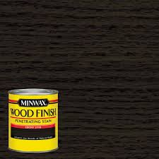 Home Depot Paint Matching by Minwax 1 Qt Wood Finish Ebony Oil Based Interior Stain 70013444