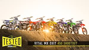 motocross bike security 2017 vital mx 450 shootout motocross feature stories vital mx