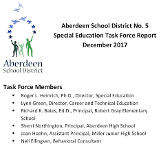 aberdeen high school online aberdeen school district overview