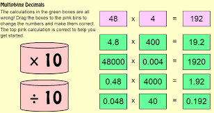 multiplying decimals lesson plans multiplying decimals