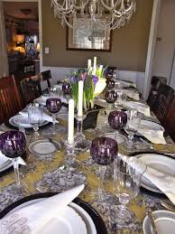 Table Scapes Entertaining Women Amethyst And Toile
