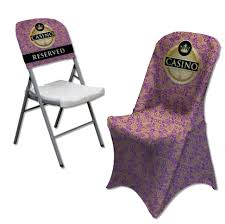 purple chair covers chair covers
