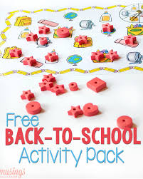 free printable matching games for preschoolers activity pack