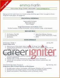 Sample Entry Level Resume by Graphic Design Resume Sample Entry Level