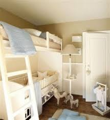 Loft Bed With Crib Underneath Bed On Top Desk On Bottom Open Travel