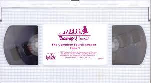 barney u0026 friends the complete fourth season custom barney