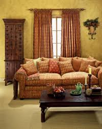 Livingroom Drapes by Brown Sofa And Curtain Interesting Living Room With Curtains