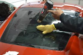 is car window tint applied on the interior or exterior glass