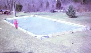 Hockey Rink In Backyard by Diy Backyard Ice Rink My Family Loves It
