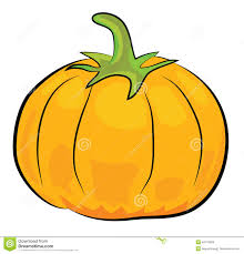 cartoon pumpkin illustration stock illustration image 42476955