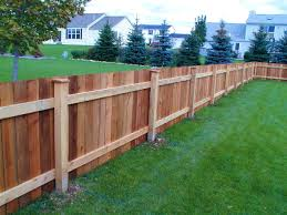 Fence Ideas For Small Backyard Outstanding Wood Also Privacy Fence Styles In Fencing Ideas