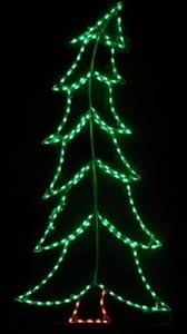 details about large tilted xmas tree holiday outdoor led lighted