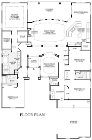 Open Floor Plan Ranch Style Homes Download Large Custom Home Floor Plans Adhome