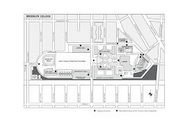 Uh Campus Map Brooklyncollege Png