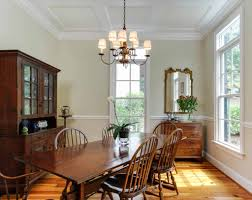 dining room traditional dining room with antique chandelier and