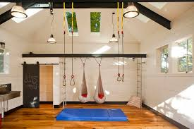 marcy home gym in kids industrial with outdoor tiki bar next to