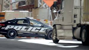 police car ford u0027s hybrid cop car has electric boost for high speed chases