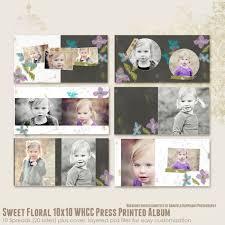 10x10 Album Sweet Floral 10x10 Whcc Press Printed Album Albums Sweetfloral