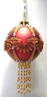 best 25 beaded ornament covers ideas on beaded