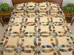 wedding ring quilt wedding ring quilt great cleverly made amish quilts from
