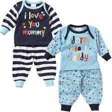 striped sleepwear 0 24 months for boys ebay