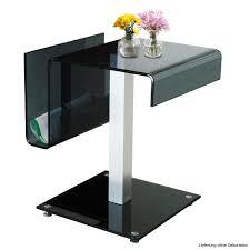 Glastische Esszimmer Rund Designer Glas Tisch Wohnzimmer Esszimmer Küchen Couch Ablage
