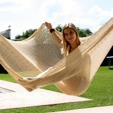hand made mexican hammock in xl size