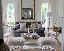 Slipcover Furniture Living Room Gray Velvet Sofa Eclectic Living Room Sally Wheat Interiors