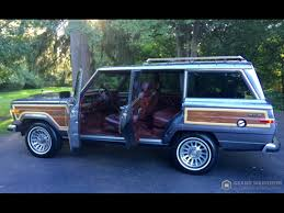 classic jeep wagoneer lifted 1989 jeep grand wagoneer grand wagoneer by classic gentleman