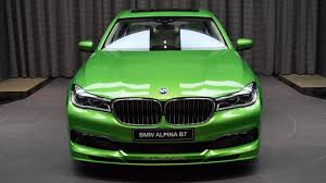dark green bmw is this bright green alpina b7 great or gross