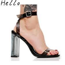 aliexpress com buy women u0027s shoes 2017 summer sandals new pvc