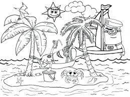coloring pages beach coloring beach coloring pages to print