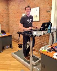 Standing Treadmill Desk by What Companies Use Treadmill Desks Rebel Desk