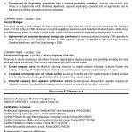 Sample Resume For Industrial Engineer by Industrial Engineer Resume Resume Template 2017