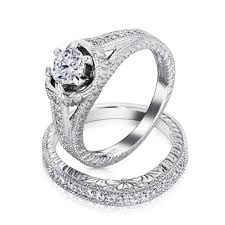 cheap wedding sets for him and unique cheap vintage wedding ring sets vintage wedding ideas