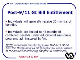 the post 9 11 gi bill chapter ppt download