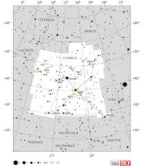 cygnus constellation facts myth star map major stars deep sky