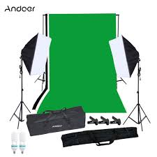 best softbox lighting for video photography softbox lighting kit w studio stand black white green