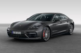 porsche panamera turbo red 2017 porsche panamera first look review motor trend