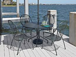 Patio Furniture Wrought Iron by Woodard Briarwood Wrought Iron Patio Set Refinish Iron Patio