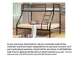 Wood And Metal Bunk Beds Bunk Beds For Sale Wood Or Metal Bedroom Furniture