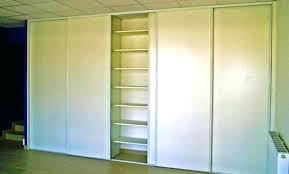 placard chambre sur mesure armoire murale chambre placard mural amnag en dressing avec portes