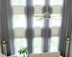 Custom Sheer Drapes Extra Long Curtains Etsy