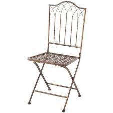 Metal Patio Chair Filament Design Sundry Antique Bronze Metal Folding Patio Chair