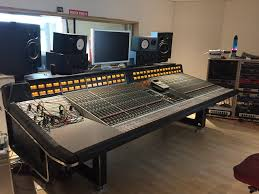 Home Studio Mixing Desk by Projects Mark1