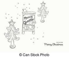 christmas cute icon christmas cute icon hand draw sketch